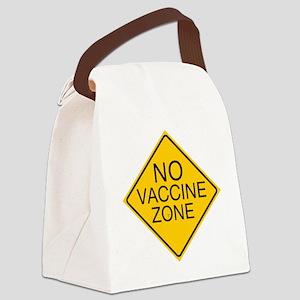 traffic no vaxx Canvas Lunch Bag