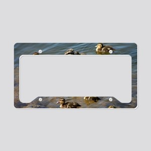 Big ducky family License Plate Holder