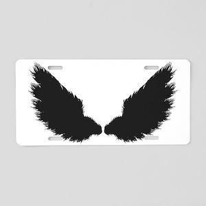 Wings Aluminum License Plate