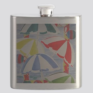 Beach Umbrellas Flask