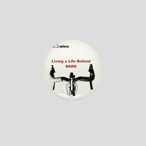 Cycling T Shirt - Life Behind Bars Mini Button