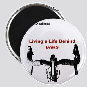 Cycling T Shirt - Life Behind Bars Magnet