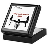 Bike rider Square Keepsake Boxes