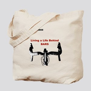 Cycling T Shirt - Life Behind Bars Tote Bag