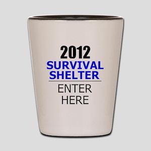 2012shelter1 Shot Glass