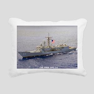 ford rectangle magnet Rectangular Canvas Pillow