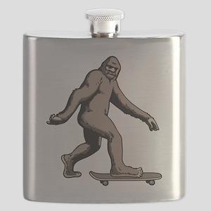 Squatch Boarder Flask