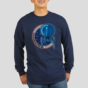 ENTERPRISE Patch Long Sleeve Dark T-Shirt