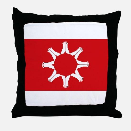 Oglala Flag Throw Pillow