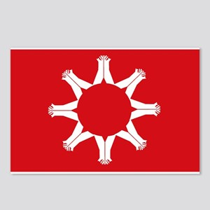 Oglala Flag Postcards (Package of 8)