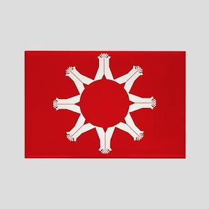Oglala Flag Rectangle Magnet