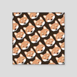 "shibastile Square Sticker 3"" x 3"""