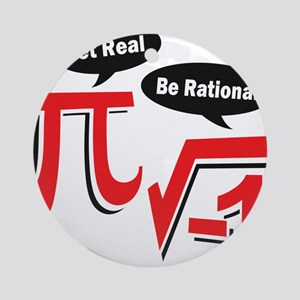 getrealberationalw Round Ornament