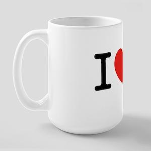 I Love Lamp Large Mug