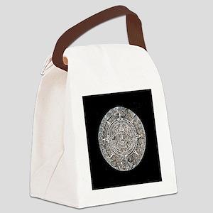 Mayan Calendar only Canvas Lunch Bag