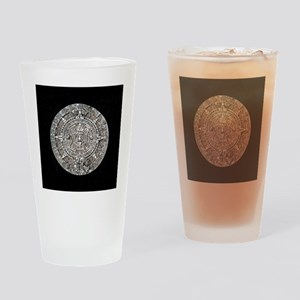 Mayan Calendar only Drinking Glass