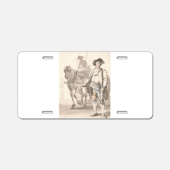 A Tinker and His Wife - Paul Sandby - c1759 Alumin