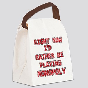 monopoly Canvas Lunch Bag