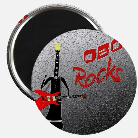 Oboe Rocks png Magnet