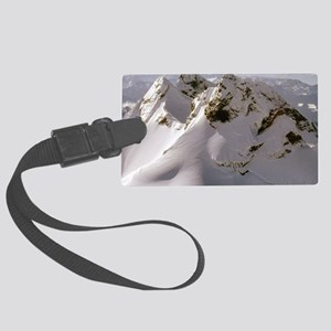 mountaintop suprise 2 Large Luggage Tag