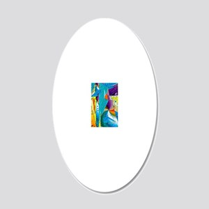 Tapestry2 5x8_journal 20x12 Oval Wall Decal