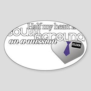southcab;lack Sticker (Oval)