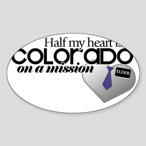 colorado Sticker (Oval)