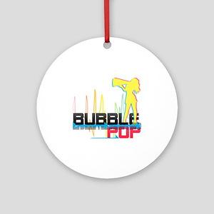bubblepopcopy Round Ornament