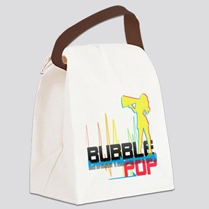 bubblepopcopy Canvas Lunch Bag