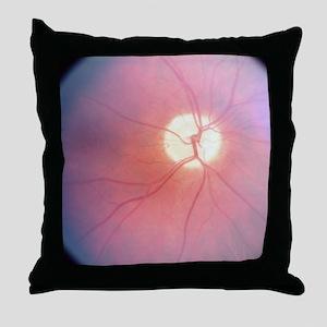 Optic Nerve T-Shirt 4 Doctors Throw Pillow