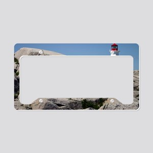 Peggys Cove License Plate Holder