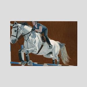 kingston_horse1 Rectangle Magnet
