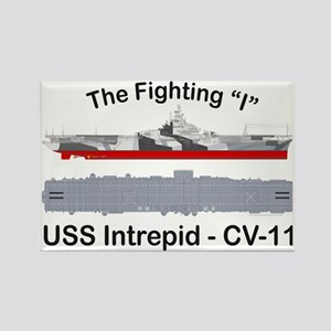Essex-Intrepid-Straight_T-Shirt Rectangle Magnet