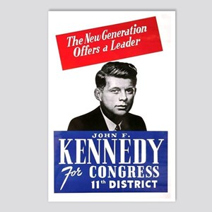 ART JFK for Congress Postcards (Package of 8)
