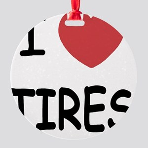 TIRES Round Ornament