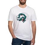 Dragon(Ryuu) illust Fitted T-Shirt