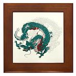 Dragon(Ryuu) illust Framed Tile