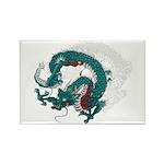 Dragon(Ryuu) illust Rectangle Magnet (100 pack)