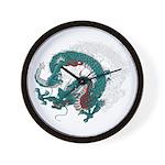 Dragon(Ryuu) illust Wall Clock