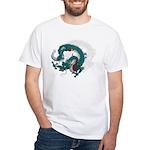 Dragon(Ryuu) illust White T-Shirt