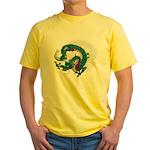 Dragon(Ryuu) illust Yellow T-Shirt