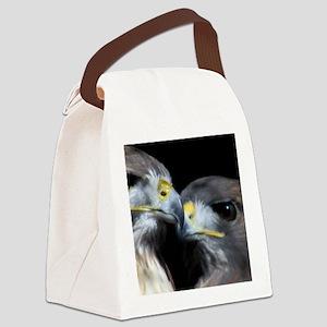 Valentine Hawks Canvas Lunch Bag