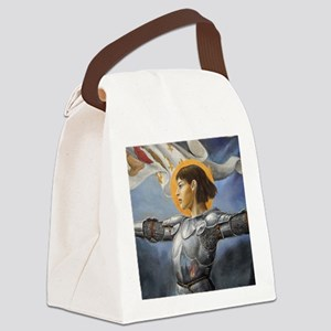 joan square Canvas Lunch Bag