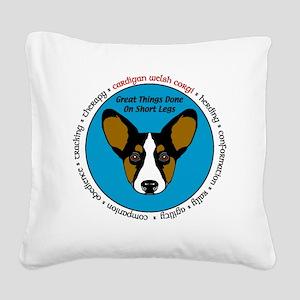 TWVersatilityTR Square Canvas Pillow