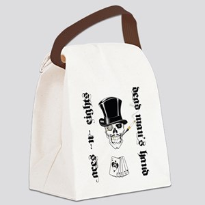 aces -n- eights dead mans hand -  Canvas Lunch Bag