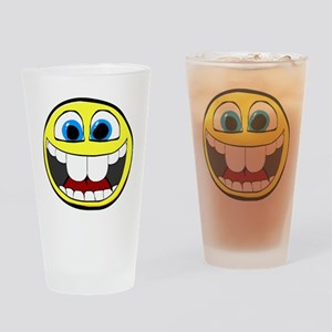 Smilie1-Happy Drinking Glass
