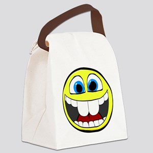 Smilie1-Happy Canvas Lunch Bag