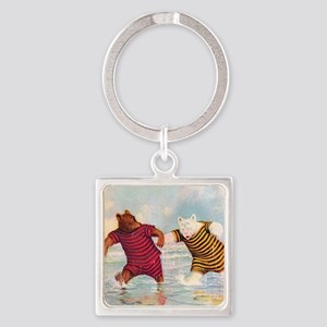 RB_atlantic city bears_SQ Square Keychain