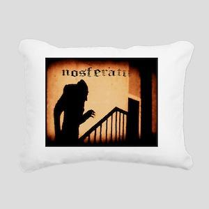 nosferatu_shadow Rectangular Canvas Pillow