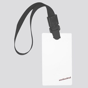 quikbong dark 6000 Large Luggage Tag